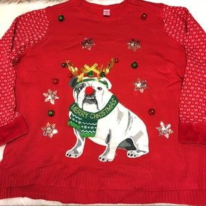 Sweaters - New 3X ladies ugly Christmas sweater